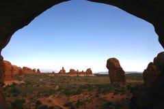 podwójny arch widok Zdjęcie Royalty Free