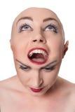 Podwójny osobowości pojęcie Fotografia Stock