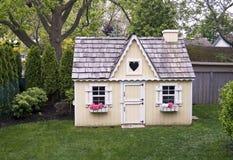 podwórza domek do zabaw Fotografia Royalty Free