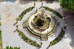 Podwórze Świątobliwy Catherine Przyklasztorny w Palermo, Włochy fotografia royalty free