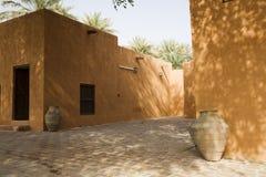Podwórze Al Ain muzeum fotografia stock