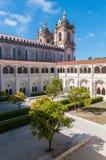 Podwórze Alcobaca monaster zdjęcie stock