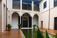 Podwórze dom Zafra Casa De Zafra obraz royalty free