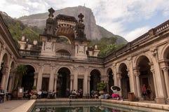 Podwórze dwór Parque Lage w Rio De Janeiro, Brazylia zdjęcia royalty free