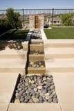 podwórze fontanna Zdjęcia Stock