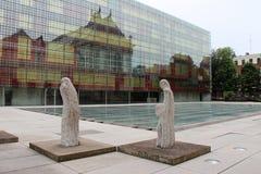 Podwórze - galeria sztuki - Lille, Francja - Obrazy Stock