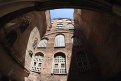 Podwórze Hagia Sofia w Istanbuł fotografia stock
