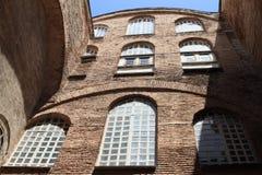 Podwórze Hagia Sofia w Istanbuł zdjęcia royalty free