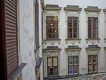 Podwórze Hofburg pałac zdjęcie stock