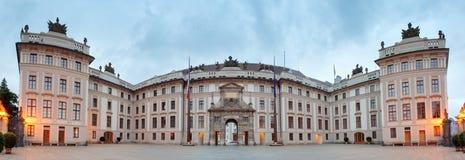 Podwórze honor w Praga kasztelu obrazy royalty free