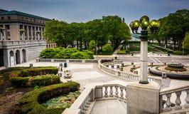 Podwórze i budynki w Capitol kompleksie, Harrisburg obrazy royalty free