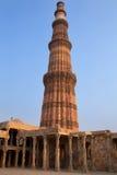 Podwórze islamu meczet, Qutub Minar, Delhi, India obraz royalty free