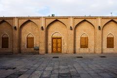 Podwórze Jameh meczet w Yazd obraz royalty free