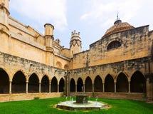 Podwórze katedra de Tortosa zdjęcie stock