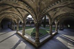 Podwórze katedralne Santa Maria nowele Zdjęcie Royalty Free