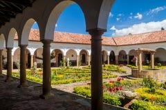 Podwórze klasztor Santo Ecce obrazy stock
