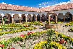 Podwórze klasztor Santo Ecce zdjęcie stock