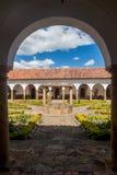 Podwórze klasztor Santo Ecce obraz royalty free