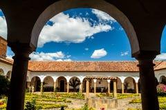 Podwórze klasztor Santo Ecce zdjęcia stock