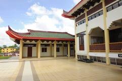 Podwórze Masjid Jubel Perak sułtanu Ismail Petra a K A Masjid Pekin obraz stock