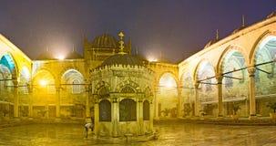 Podwórze meczet obraz stock