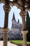 Podwórze monaster Santa Maria da Vitoria w Batalha obraz royalty free