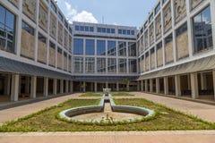 Podwórze Museo De Bellas Artes, Hawański, Kuba obraz royalty free