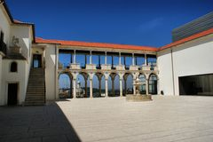 Podwórze Muzealny Machado Zdjęcia Royalty Free
