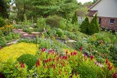 podwórze ogród Zdjęcie Stock