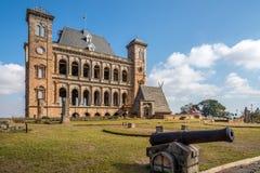 Podwórze pałac królewskiego kompleks, Rova Antananarivo obrazy stock