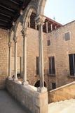 Podwórze pałac królewski fotografia stock