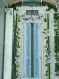 Podwórze przy Malezja zdjęcie royalty free