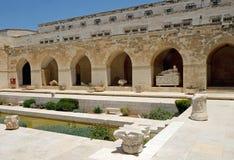 Podwórze Rockefeller Archeologiczny muzeum obraz royalty free
