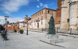 Podwórze Tordesillas zdjęcia royalty free
