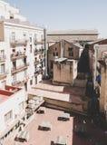 Podwórze w Barcelona obrazy stock