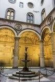 Podwórze w Palazzo Vecchio w Florencja, Włochy obrazy royalty free