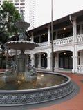 podwórzowi fontanny hotelu raffles Obrazy Stock