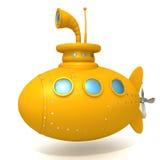 Podwodna 3d ilustracja Obrazy Royalty Free