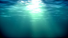 Podwodna pętla ilustracji