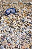 podwodni plażowi gogle Fotografia Royalty Free