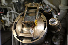 Podwodny śmieciarskiego usuwania ląg i kontrola Fotografia Stock