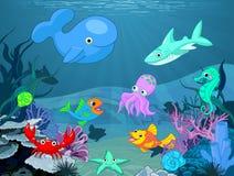 Podwodny życie royalty ilustracja