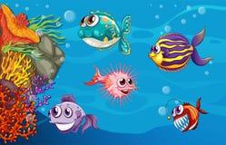 podwodny Zdjęcia Royalty Free