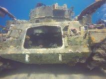 Podwodny działania wojenne zdjęcie royalty free