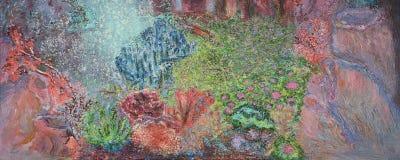 Podwodny korala ogródu obraz ilustracji