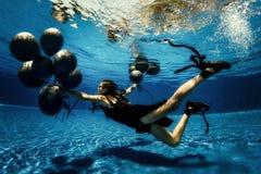 Podwodny krótkopęd Fotografia Stock
