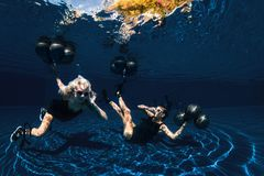 Podwodny krótkopęd Zdjęcia Stock