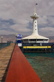 Podwodny observatory.Eilat.Israel. Fotografia Stock