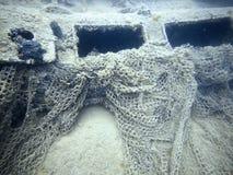 podwodny wrak Podwodny shipwreck Obraz Stock