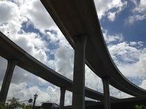 podwyższona autostrada zdjęcia stock